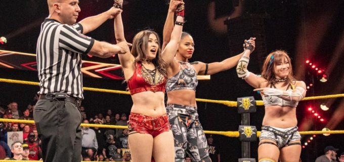 【WWE】イオが金星!タッグ戦で王者シェイナからピンフォール勝ち
