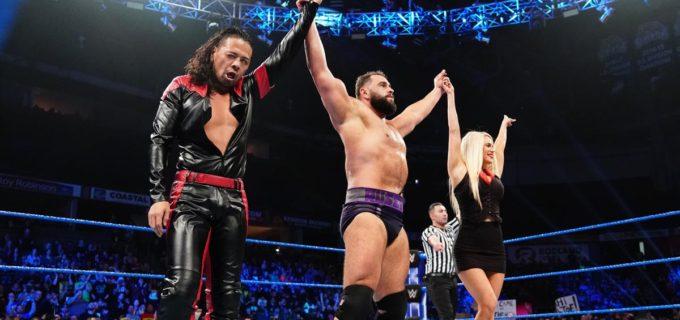 【WWE】中邑&ルセフがタッグ戦でギャローズ&アンダーソンを一蹴