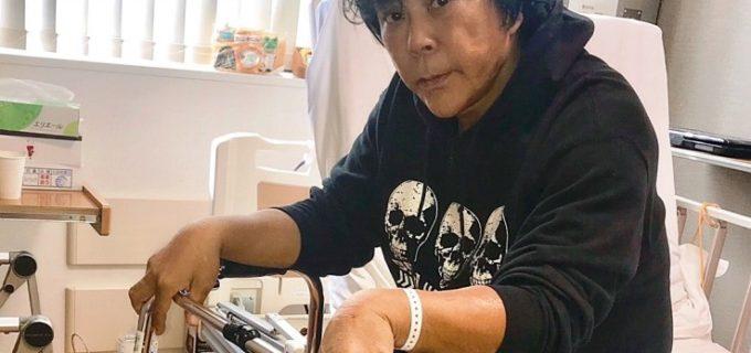 大仁田厚、両ヒザの人工関節置換手術成功も・・・全治4カ月で復帰メド立たず!