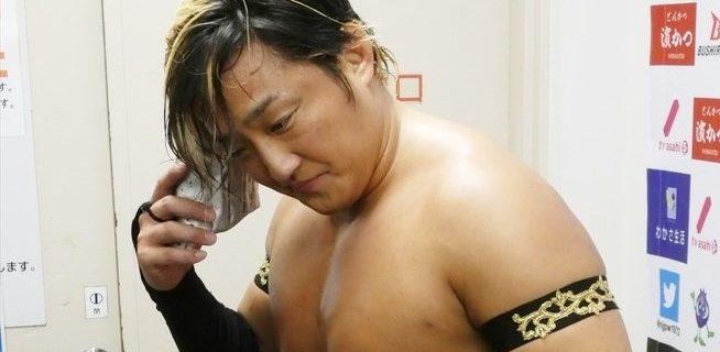 【新日本】飯塚高史がアイアンフィンガーをリングに残し引退!タイチ「いつでもまた入って来いよ、あん時の札幌みたいによ。カッコ良かった、待ってるぜ」