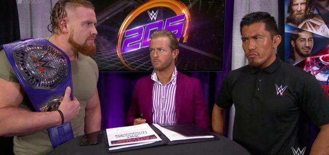 【WWE】戸澤、王座戦を前にマーフィーを牽制