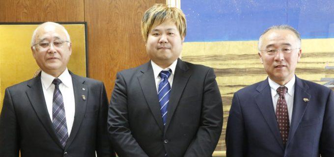 【大日本】マック竹田レフェリーが群馬県中之条町の観光大使に任命