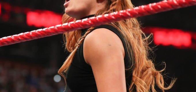 【WWE】ベッキーが最速勝利!レッスルマニア史上初女子によるメイン戦に弾み
