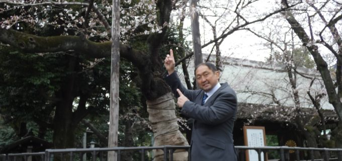 【ZERO1】大谷晋二郎がお天気の神様との会話に成功「3月31日靖国神社上空、晴れ確定」