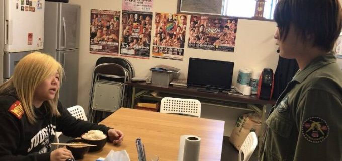 【アクトレスガールズ】安納サオリがSEAdLINNNG道場にて世志琥に対戦を直談判