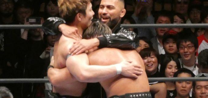 【新日本】SHO&YOHがIWGPジュニアタッグ王座を奪還!YOH「ROPPONGI 3Kを世界一のチームに」<3.6大田区>