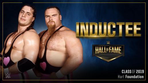 【WWE】ハート・ファウンデーションが2019年のWWE殿堂入り