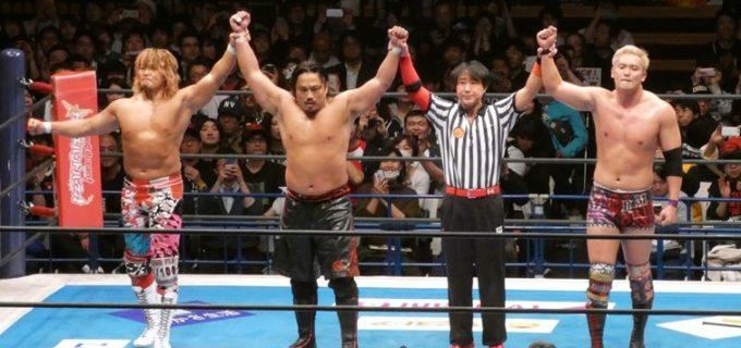 【新日本】旗揚げ記念日スペシャル6人タッグマッチは棚橋、オカダ、後藤組がロスインゴから勝利!それぞれが『NEW JAPAN CUP』優勝を宣言!<3.6大田区>