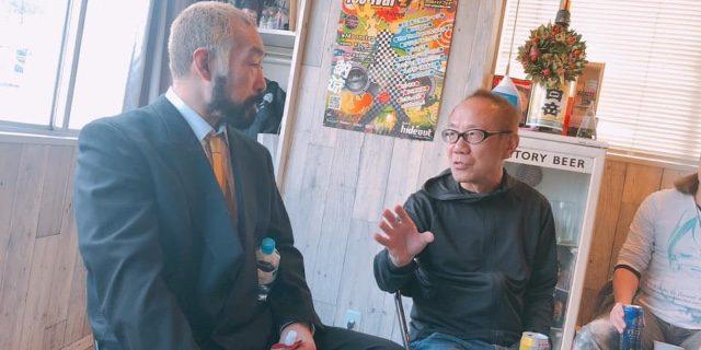 ミスターデンジャー・松永光弘がR-1優勝記念イベントにて、独自の世界で参加者を魅了