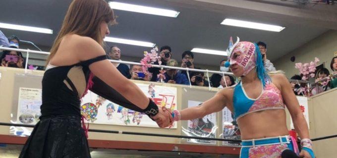 【SEAdLINNNG】4.12(金)新木場大会にて中島安里紗vsコマンド・ボリショイのラストシングルマッチが決定!