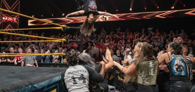 【WWE】ヒートアップするNXT女子王座戦線でイオが存在感!