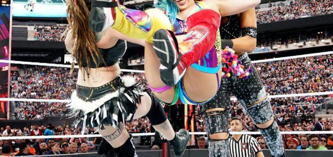 【WWE】アスカとカイリ、女子ロイヤルランブルで勝ち残れず