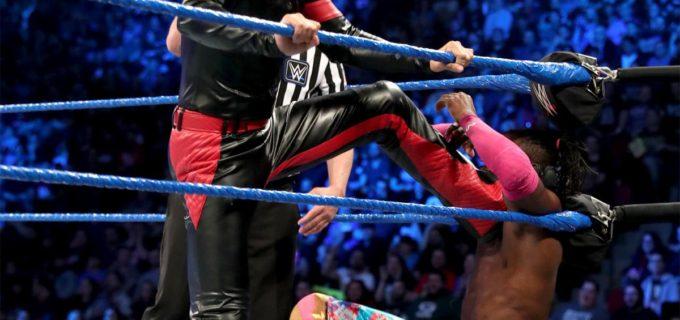 【WWE】中邑&ルセフ、6人タッグ戦で苦杯