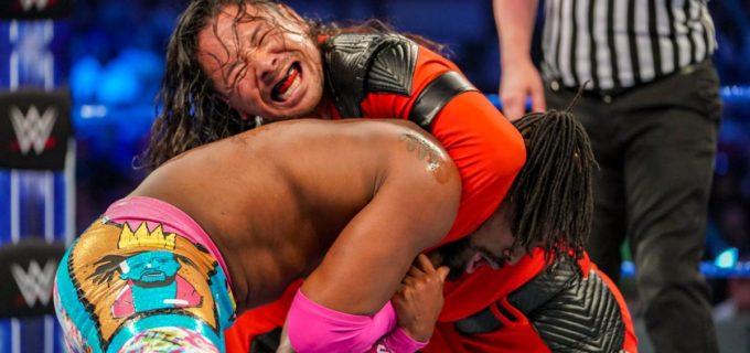 【WWE】中邑対キングストンの一戦はビックOの裏切りで波乱の展開