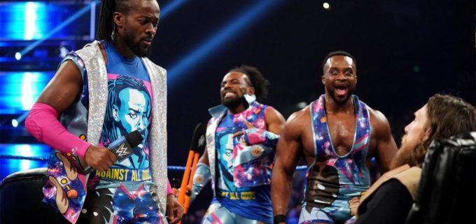 【WWE】「WWE王座になる!」キングストンが調印式で王者を威圧