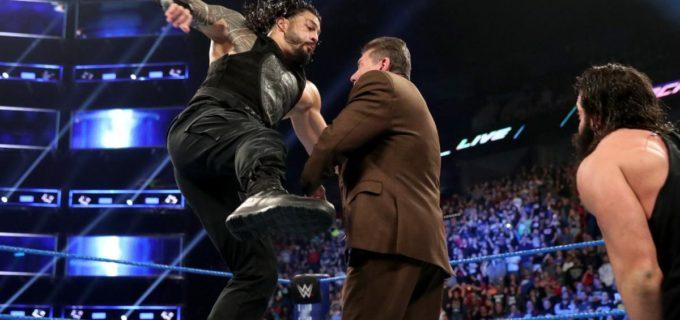 【WWE】ローマン・レインズがスマックダウンに電撃移籍