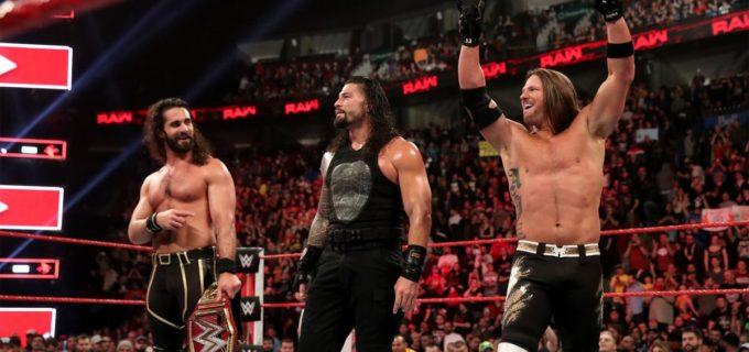 【WWE】AJスタイルズがロウ移籍!6人タッグ戦で存在感
