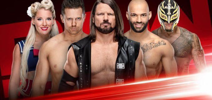 【WWE】ロウでスーパースター・シェイクアップが開催
