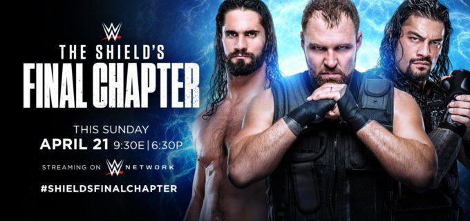 【WWE】ザ・シールド特番「TheShield's FinalChapter」が決定