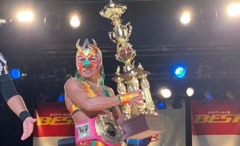 【仙女】21日に引退のコマンド・ボリショイがジュニア王座を獲得!