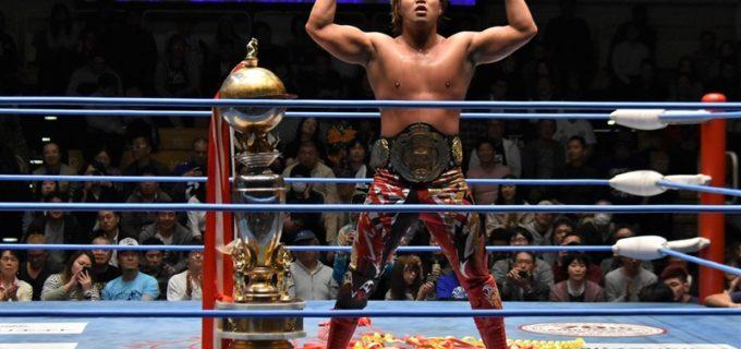 【全日本】「令和のエースは俺だ!」宮原がジェイクとの激闘を制し、天龍源一郎以来18年ぶり史上7人目の三冠王者としてチャンピオンカーニバル優勝!!