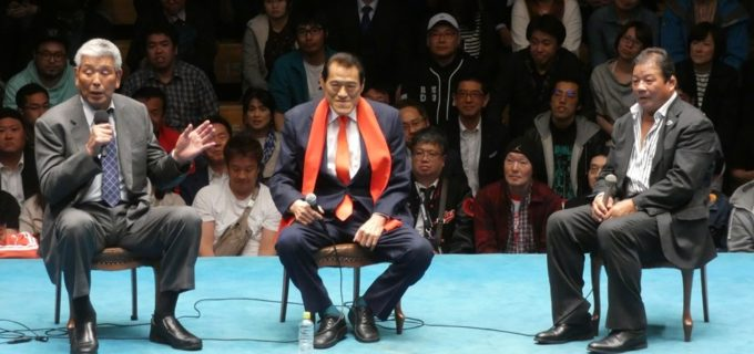 【ドラディション】アントニオ猪木vs藤波辰爾のトークライブに坂口征二さんがサプライズ登場!