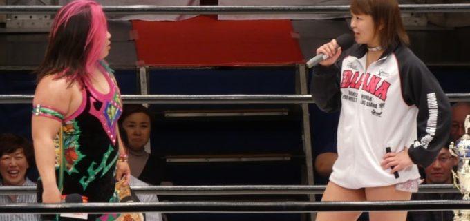 【仙女】橋本千紘がワールドシングルチャンピオンシップを防衛!里村明衣子から勝利のSareeeが次期挑戦を表明!