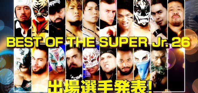 【新日本】出場発表VTRをYouTubeで公開中!「BEST OF THE SUPER Jr.26」の出場選手がついに発表!世界の強豪20名がエントリー!「令和」初の優勝者となるのはどの男だ!?