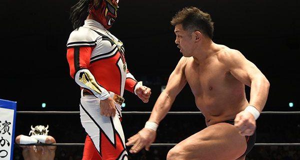 【新日本】鈴木「なんだあのざまは。お前が今できるのは口だけか? それだけ衰えたってことだな。さっさと去れ。この生き残り戦争、負けた奴はさっさと辞めて田舎にでも帰れ、この野郎。おい、獣神サンダー・ライガーよ。てめえのトドメは必ず俺が刺してやる」