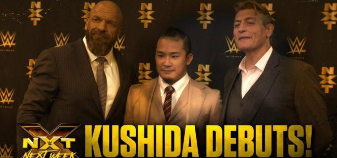 【WWE】KUSHIDAのNXTデビュー戦の相手はカシアス・オーノ