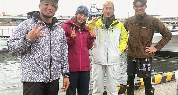 【新日本】4月25日(木)21時~オンエア!BS日テレ『照栄・児島玲子の最強!釣りバカ対決!!』にSHO選手が出演!