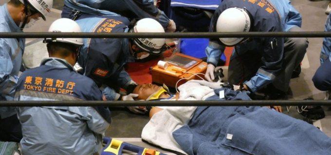 【W-1】#STRONGHEARTS 山村武寛が試合中のケガにより病院へ緊急搬送
