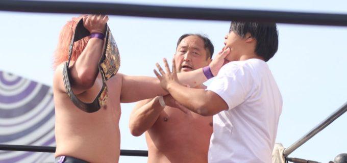 【ZERO1】NWAインターコンチネンタルタッグ王者の菅原が岩﨑の挑戦を受諾、5.5(日)埼玉・入間でのカード変更