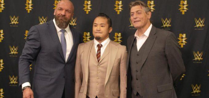 【WWE】KUSHIDAとの契約を発表、NXT所属へ