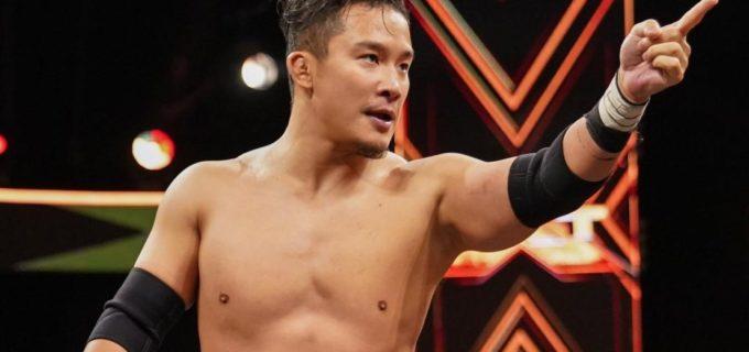 【WWE】6・30 NXT第3戦、KUSHIDA対ドリュー・グラックが決定!