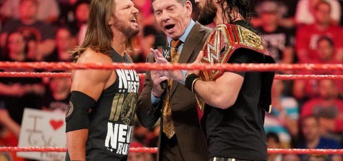 【WWE】2週連続のフェノメナール・フォアアームにロリンズ激怒