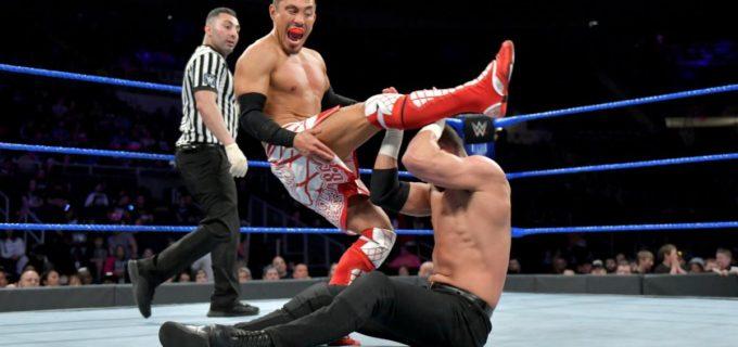 【WWE】「チャンピオンになってやる!」戸澤が5ウェイ戦を制して王座挑戦権を奪取!
