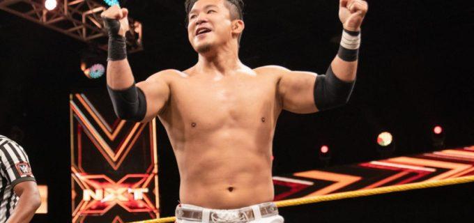 【WWE】KUSHIDAがグラック撃破でNXT3連勝