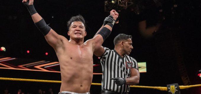 【WWE】KUSHIDAがオーノを撃破して鮮烈NXTデビュー!