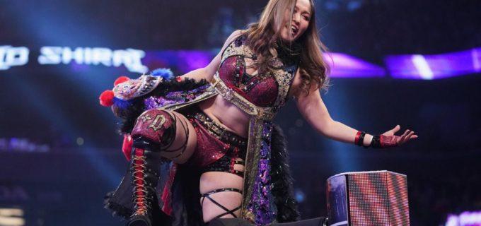 【WWE】紫雷イオ、悲願のNXT女子王座戦が決定