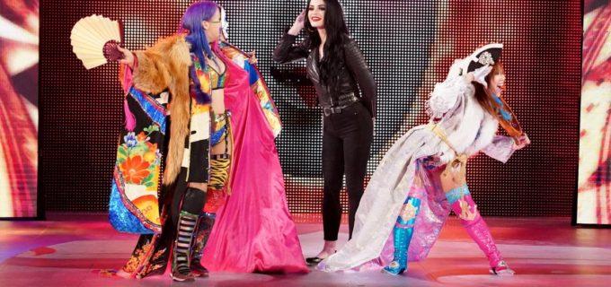 【WWE】完勝のアスカ&カイリがWWE女子タッグ王者を挑発