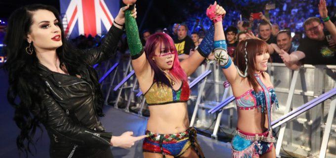 "【WWE】""カブキ・ウォリアーズ""アスカ&カイリが女子タッグ王座へ前進!"