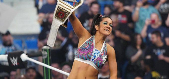 【WWE】ベッキーがSD女子王座陥落!女子MITBラダー戦を制したベイリーが新SD女子王者に