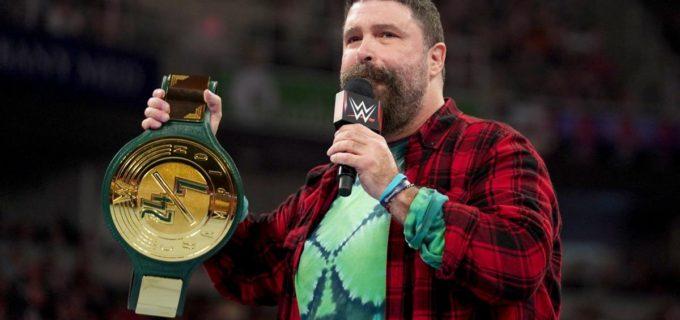 【WWE】ミック・フォーリーが新しいタイトル24/7王座を発表!
