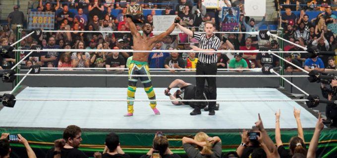 【WWE】キングストンがオーエンズを撃破してWWE王座防衛に成功!