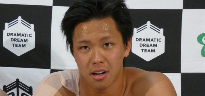 【DDT】梅田公太が7月21日付けで退団、後楽園ホール大会にて壮行試合