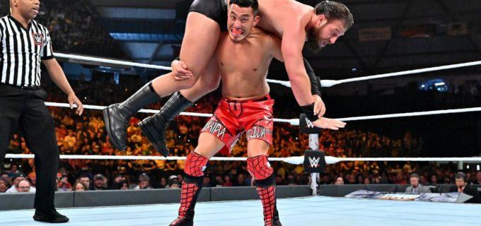 【WWE】戸澤、王座奪還ならず!激戦を制したグラックが新クルーザー級王者となる!!