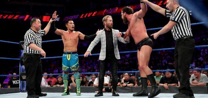 【WWE】戸澤とグラックの因縁はダブルピンフォールで決着付かず