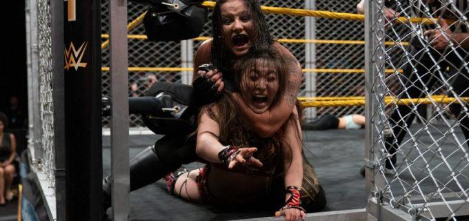 【WWE】イオ、王者シェイナを失神させるも王座逃して豹変