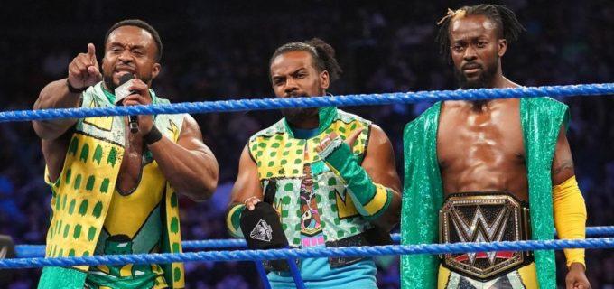 【WWE】ニュー・デイ、ビックE復帰戦を勝利で飾る